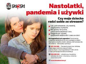 nastolatki pandemia i używki